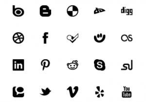 Simple Social Media – Flat