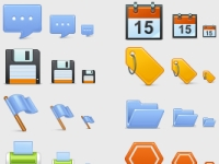 There are high-quality icons in