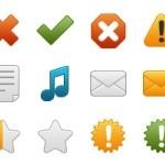 50 Free Icons: Onebit, Set 1