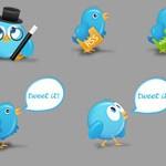 12 Birdies: Twitter Icons