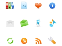 There are free icons in