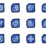 90 Architecture Blueprint Icons