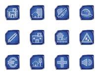 This unique icon set features