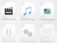 Free file type icons perfect