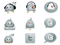 These cute Twitter birdie and