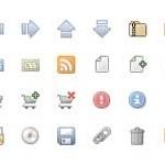 60 Vaga Semi-Transparent Icons