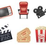 Free Icons: 10 Movie Icons