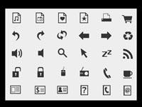 Mono Free Icons Huge Set
