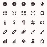 Free Icons: 171 Iconic Open Source Icons