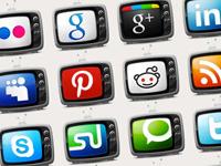 This creative Television Social Media