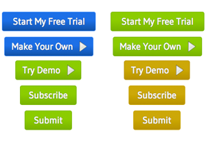 21 Landing Page Buttons