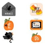 Free Icons: 6 Halloween Icons by Tricia-Rennea
