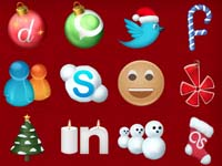 Free Icons for Christmas creatively
