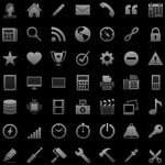 Free Icons: 300 iOS Tab Bar Icons
