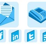 Free Icons: 8 Contact Icons