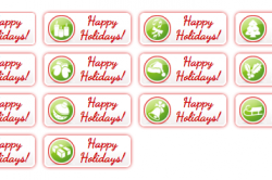 Happy-Holiday-Buttons-All1-250x166