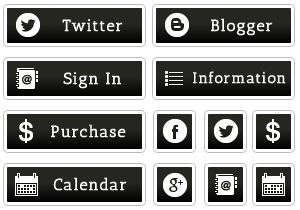 Black Web and Social Buttons