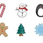 Free Icons: 10 Winter Holiday Icons