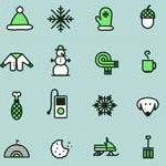 Free Icons: 16 Winter Icons