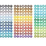 Free Icons: 1680 Circle Social Media Icons