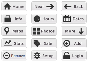 Compact Web Buttons