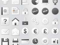 Siena Web UI Pastel Icons