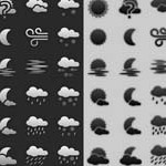 Free Icons: 48 Weather Icons