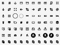 Handcrafted pixel perfect icons tailored