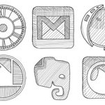Free Icons: 120 Sketchy Icons