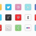 Free Icons: 18 Px Social Icons