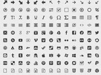 IcoMoon's icons are carefully designed