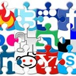 Free Icons: 72 Social Puzzle Icons
