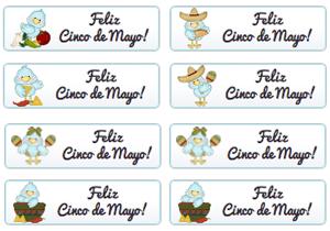 Feliz Cinco De Mayo Buttons