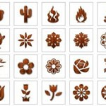 Free Icons: 123 Glossy Waxed Wood Icons