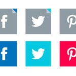 Free Icons: 19 Social Media Icons for Corporate Sites