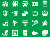 FREE ICONS FOR GOOGLE MAPS