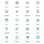 Free Icons: 270 Simplicity Vector Icons
