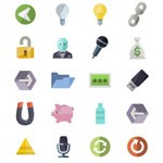Free Icons: 3600 Flat Icons from Shock