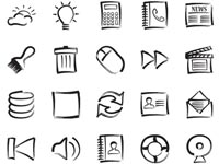 The addition free icons set