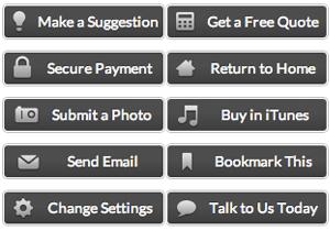 Monochrome Web Buttons