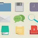 Free Icons: 9 Flats by Mike Clarke
