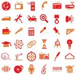 Free Icons: 200 Vector Icons