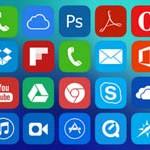 Free Icons: 200 iOS 7 Style Metro UI Icons