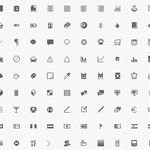 Free Icons: 296 Minimalist Icons