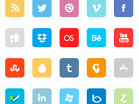 Free Icons for download Included