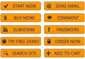 Orange Action Buttons