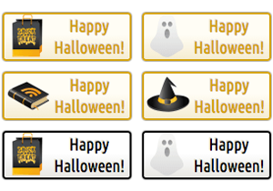 Happy Halloween Buttons