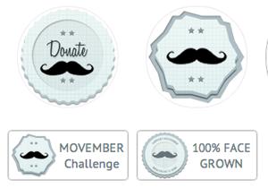 Movember Badges