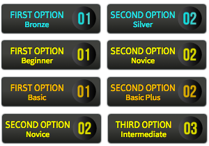 Numbered Option Buttons