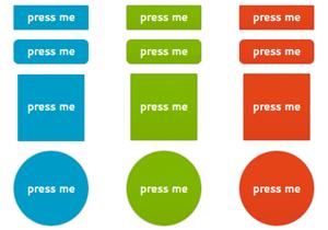 Press Me Flat Buttons